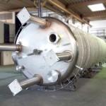 Chemie | 40cbm WHG-Behälter vor den Isolierungsarbeiten