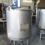 Chemie | Galvanik - Rührbehälter mit Klappdeckel