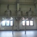 Lebensmittel |Versuchslabor Arbeitsbühne mit Beheizten Rührbehältern
