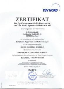EN 729-2