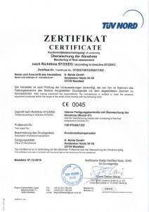 Modul A2 Zertifikat